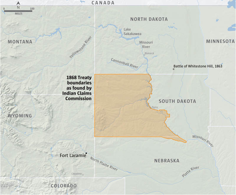 The Violent Dakota Access Pipeline Protest Raged For Hours Until - Us army corps of engineers map of dapl