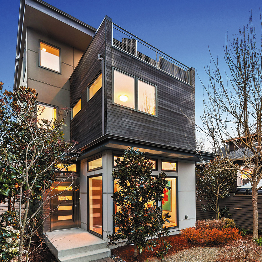 Queen Anne, Seattle home